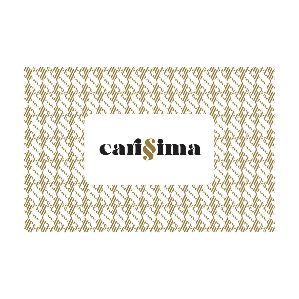 graphiste logo carissima