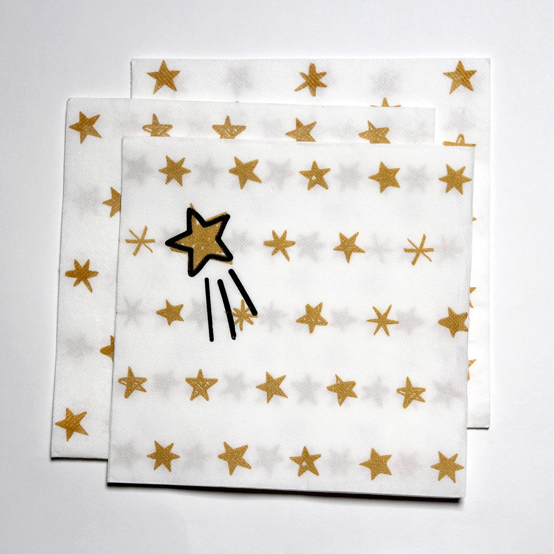 CGMP serviette décoration hélène laforêt graphiste