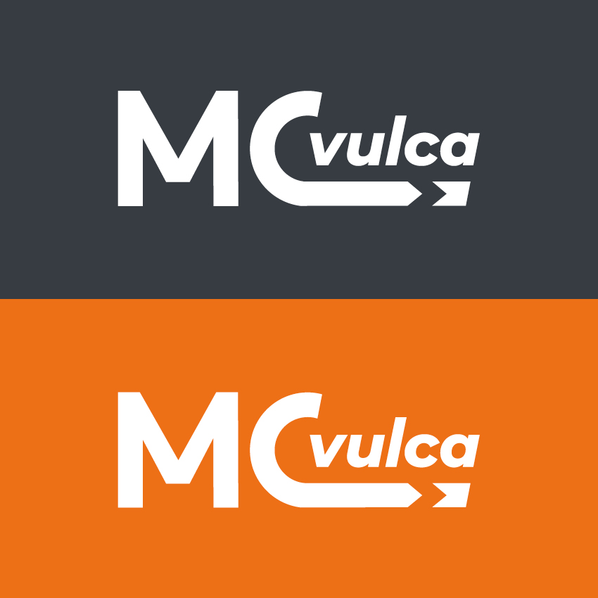 mcvulca logotype helene laforet graphiste