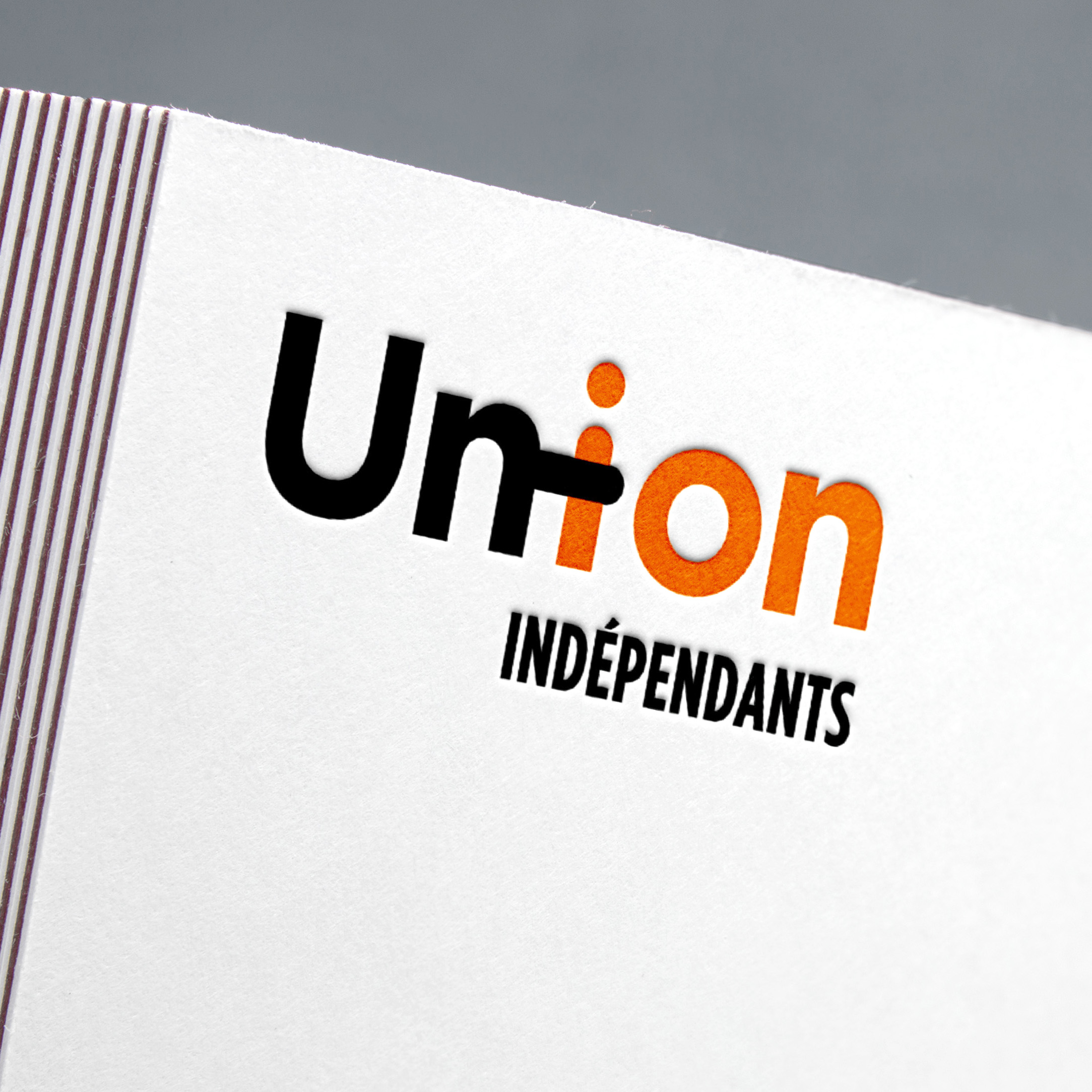 union indépendants cfdt logotype helene laforet graphiste
