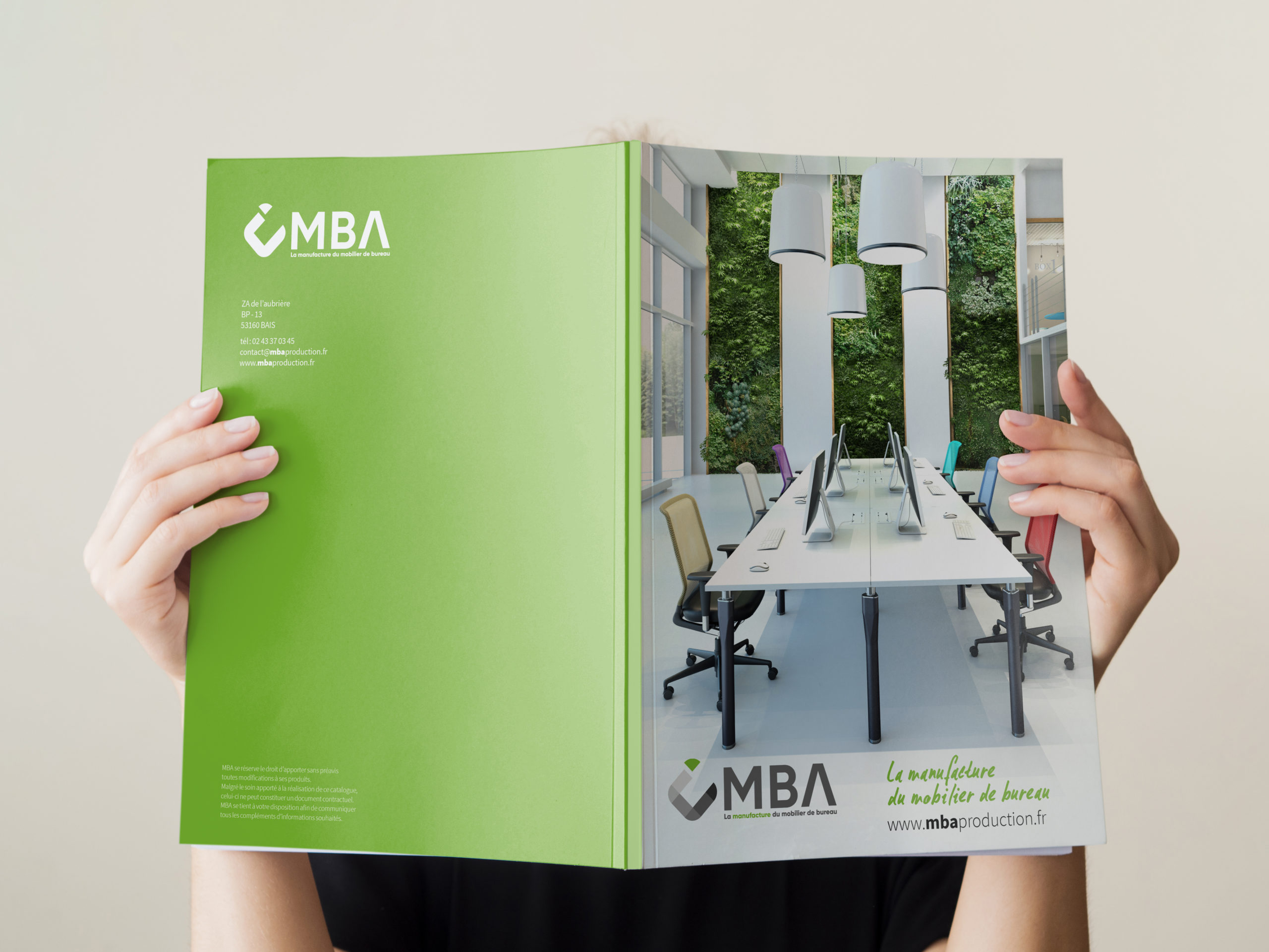mba catalogue helene laforet graphiste