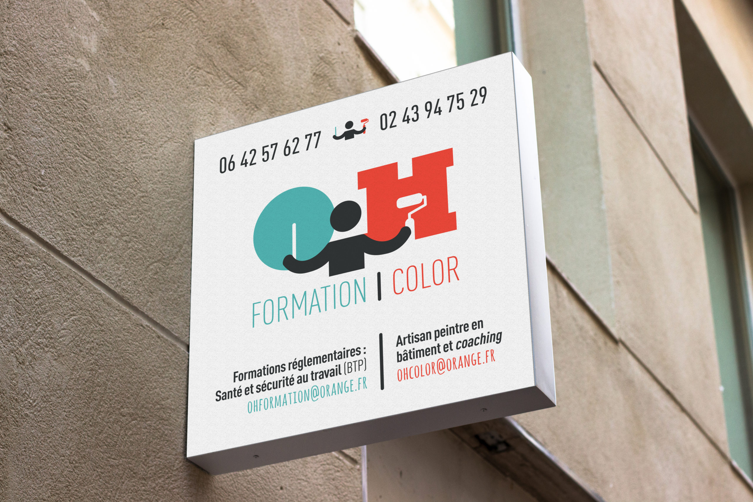 oh color logotype helene laforet graphiste
