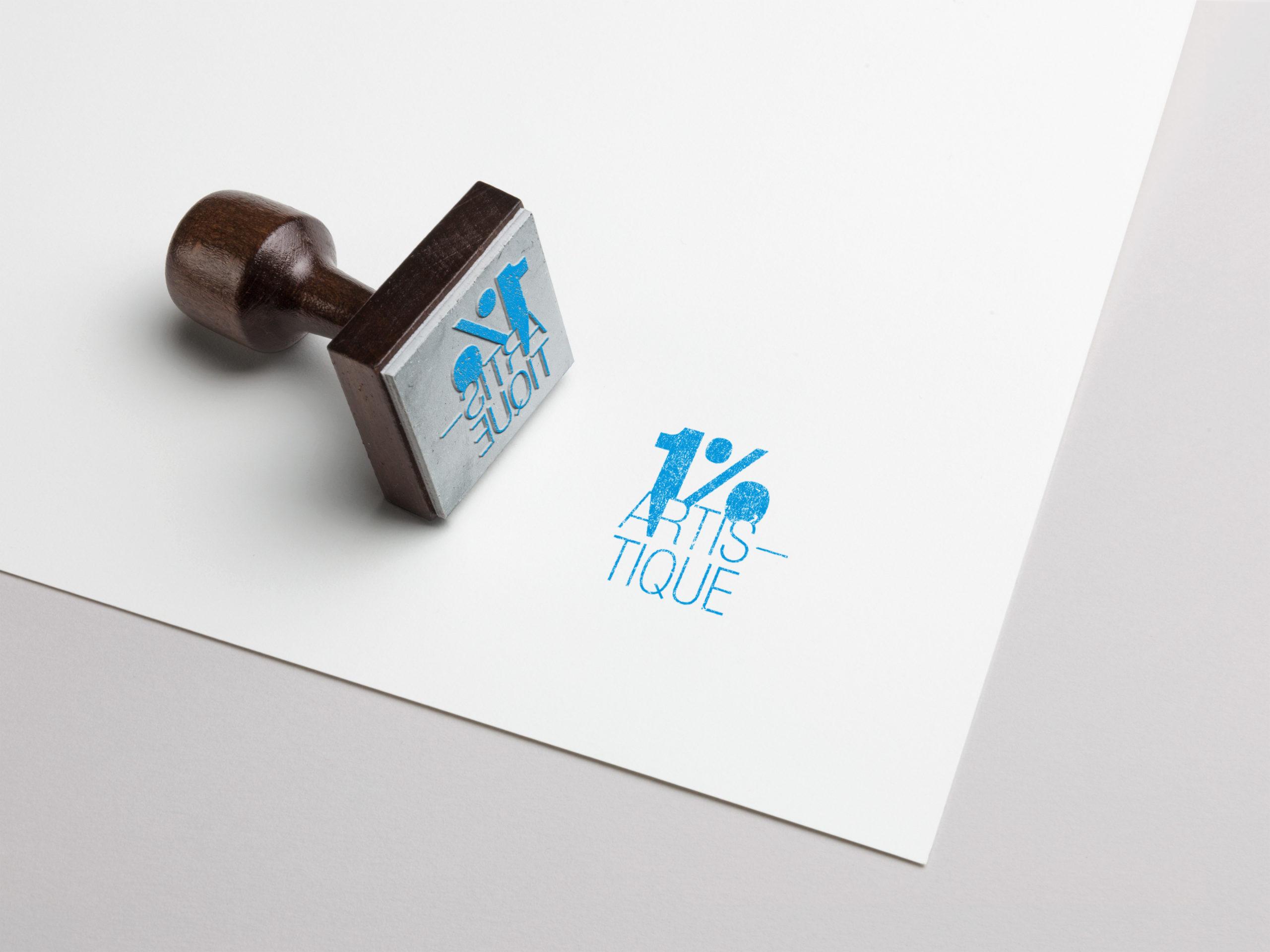 helene laforet graphiste le mans identité visuelle logotype 1% artistique
